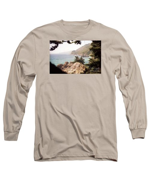 Calif Coast Drive Ocean View Long Sleeve T-Shirt
