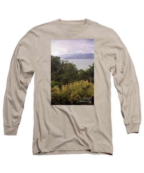 California Coast Fan Francisco Long Sleeve T-Shirt by Ted Pollard