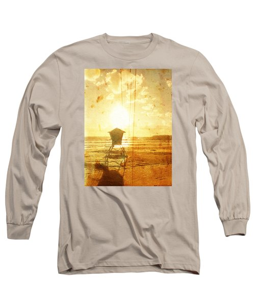 Californian Lifeguard Cabin Long Sleeve T-Shirt