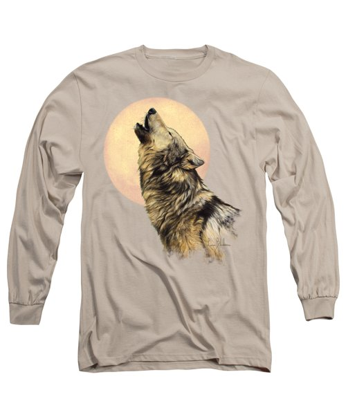 Call Of The Wild Long Sleeve T-Shirt by Lucie Bilodeau