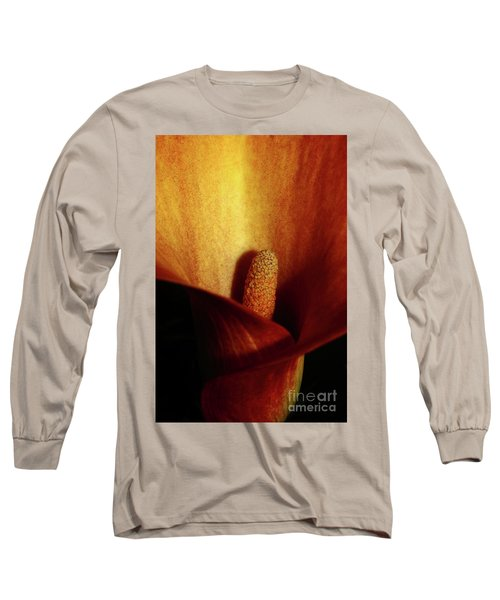 Calla Lily Long Sleeve T-Shirt by Ana Mireles