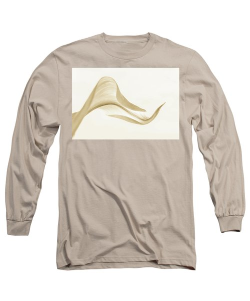 Callacurves In Sepia Long Sleeve T-Shirt