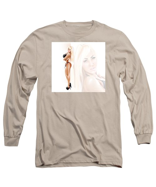 Callipygian Brazilian Aphrodite Long Sleeve T-Shirt