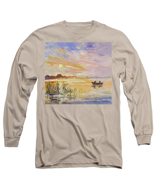 Calm Morning Long Sleeve T-Shirt by Irek Szelag