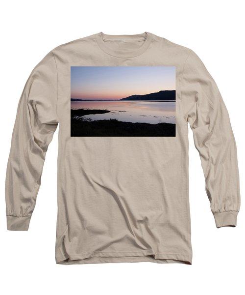 Calm Sunset Loch Scridain Long Sleeve T-Shirt