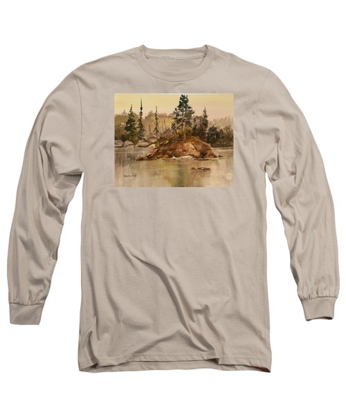 Calm Waters Long Sleeve T-Shirt by Larry Hamilton