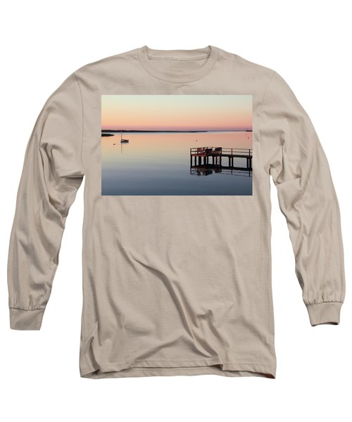 Long Sleeve T-Shirt featuring the photograph Calm Waters by Roupen  Baker