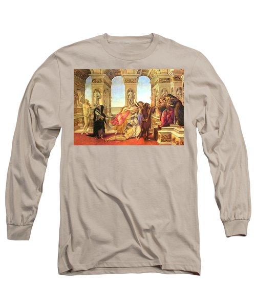 Calumny Of Apelles  Long Sleeve T-Shirt