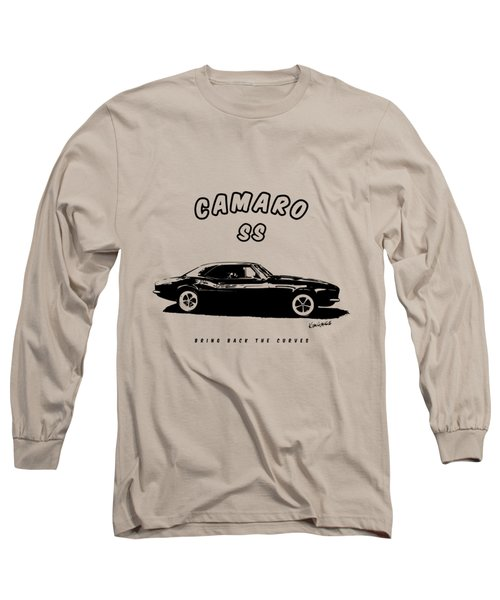 Camaro Ss Long Sleeve T-Shirt by Kim Gauge