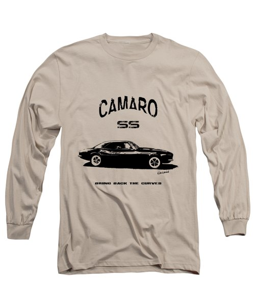Camaro Ss V.2 Long Sleeve T-Shirt by Kim Gauge