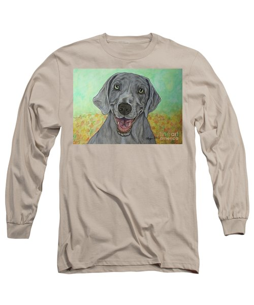 Camden The Weimaraner Long Sleeve T-Shirt