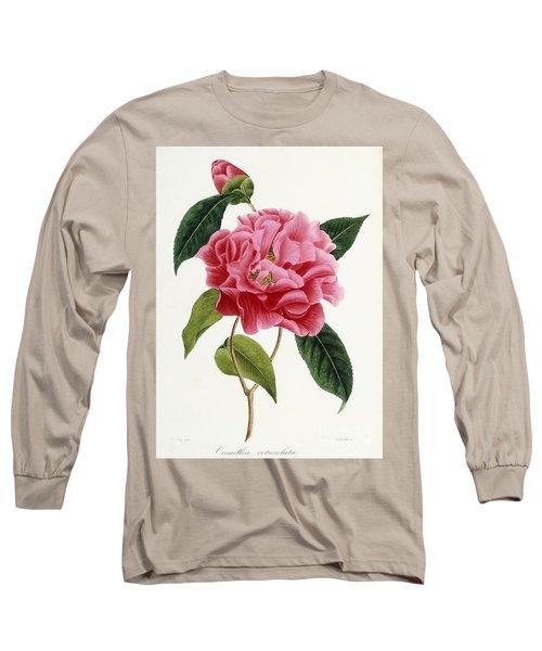 Camellia Reticulata Long Sleeve T-Shirt