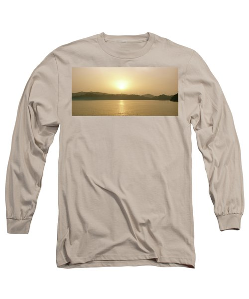 Cameroon Sunrise Africa Long Sleeve T-Shirt