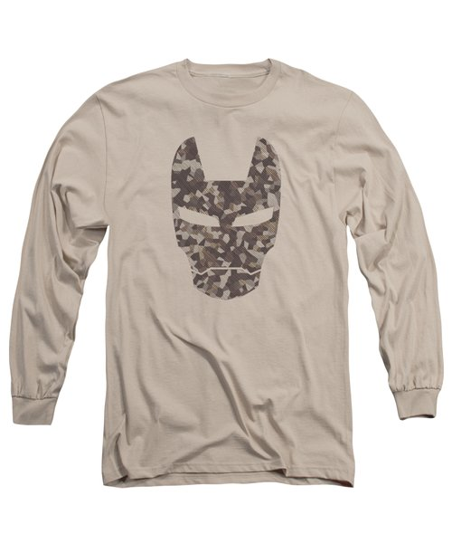 Camouflage Mask Long Sleeve T-Shirt