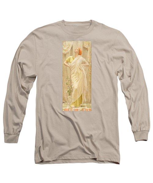 Canaries Long Sleeve T-Shirt by Albert Joseph Moore