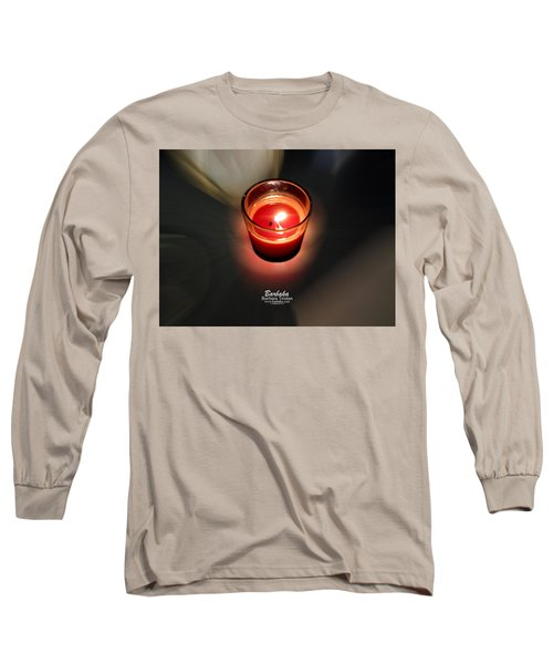 Candle Inspired #1173-3 Long Sleeve T-Shirt by Barbara Tristan