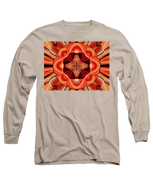 Candle Inspired #1173-4 Long Sleeve T-Shirt by Barbara Tristan