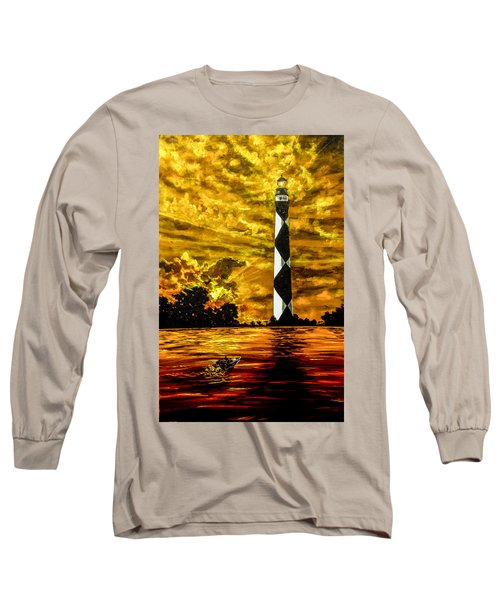 Candle On The Water Long Sleeve T-Shirt
