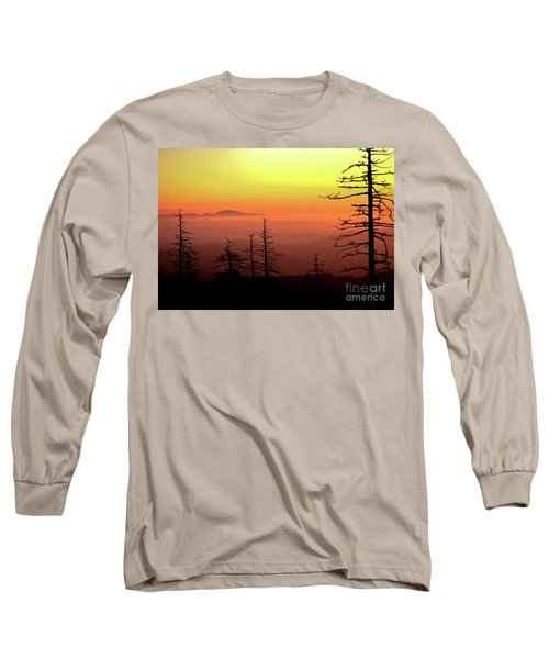 Long Sleeve T-Shirt featuring the photograph Candy Corn Sunrise by Douglas Stucky