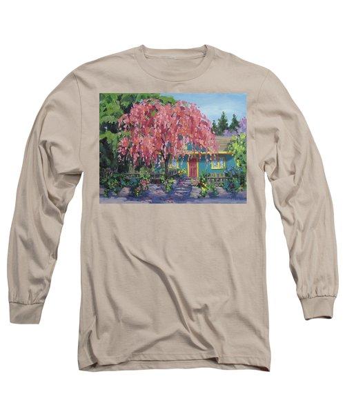Candy Tree Long Sleeve T-Shirt by Karen Ilari