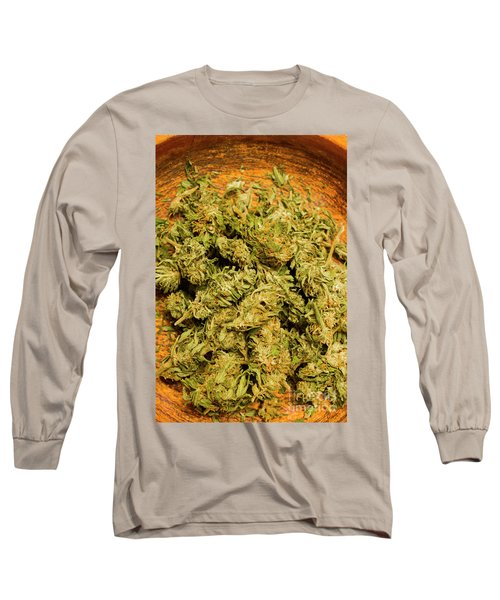 Cannabis Bowl Long Sleeve T-Shirt