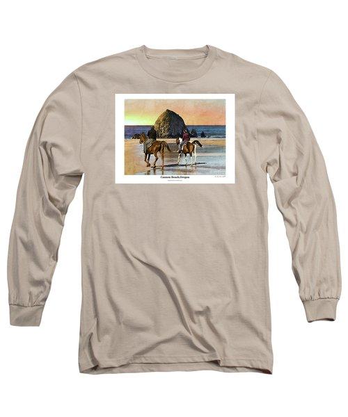 Cannon Beach Long Sleeve T-Shirt