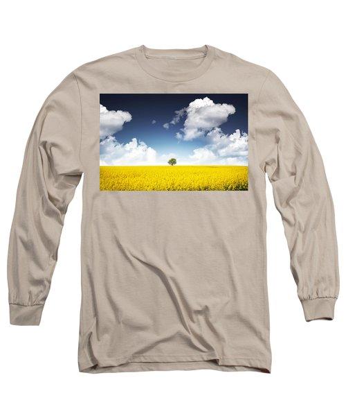 Canola Field Long Sleeve T-Shirt