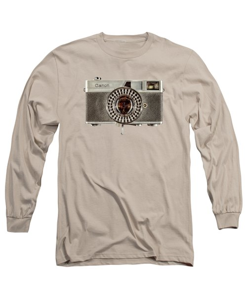 Canonete Film Camera Long Sleeve T-Shirt