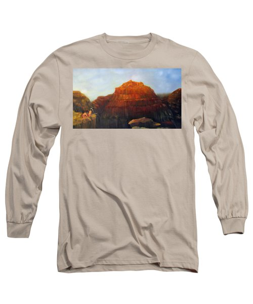 Canyon Overlook II Long Sleeve T-Shirt by Loretta Luglio