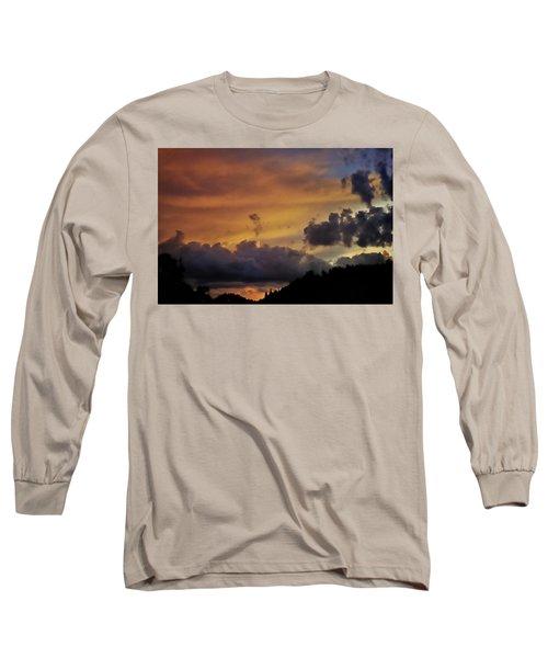 Canyon Sunset Long Sleeve T-Shirt