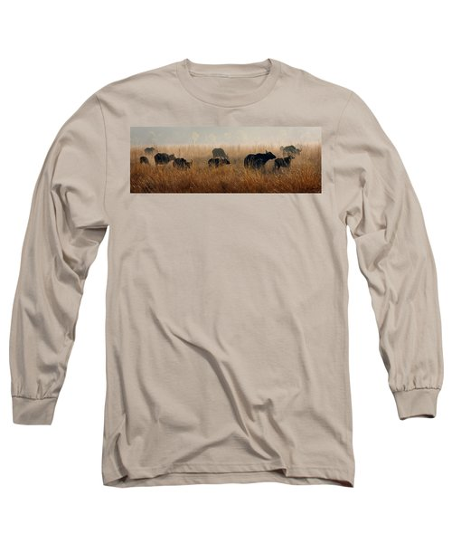 Cape Buffalo Herd Long Sleeve T-Shirt