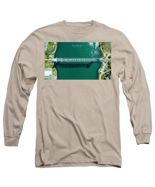 Cape Cod Canal Railroad Bridge Long Sleeve T-Shirt