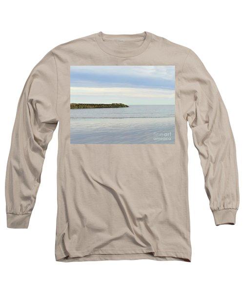 Cape Cod Jetty Sundown Long Sleeve T-Shirt