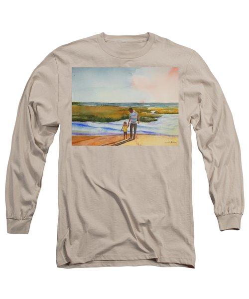 Cape Cod Sunset Long Sleeve T-Shirt