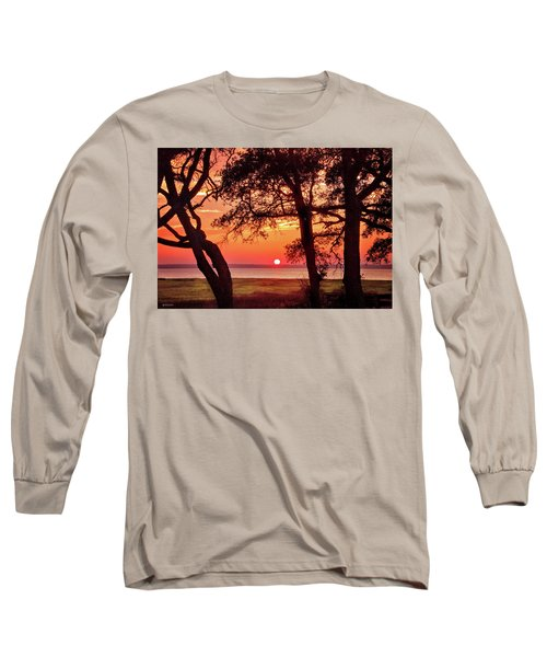 Long Sleeve T-Shirt featuring the photograph Cape Fear Tranquility by Phil Mancuso