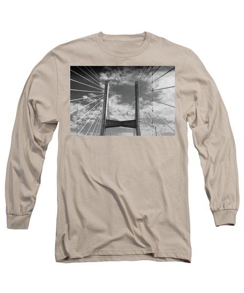 Cape Girardeau Bridge Long Sleeve T-Shirt
