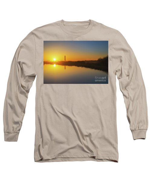 Cape May Sunset Reflections Long Sleeve T-Shirt