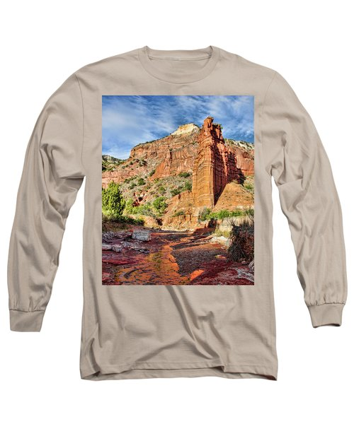 Caprock Canyon Cliff Long Sleeve T-Shirt