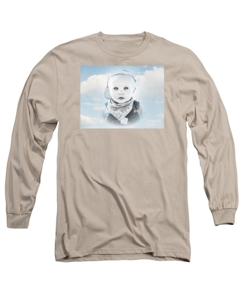 Captain Of The Sea Long Sleeve T-Shirt by Karen Lewis