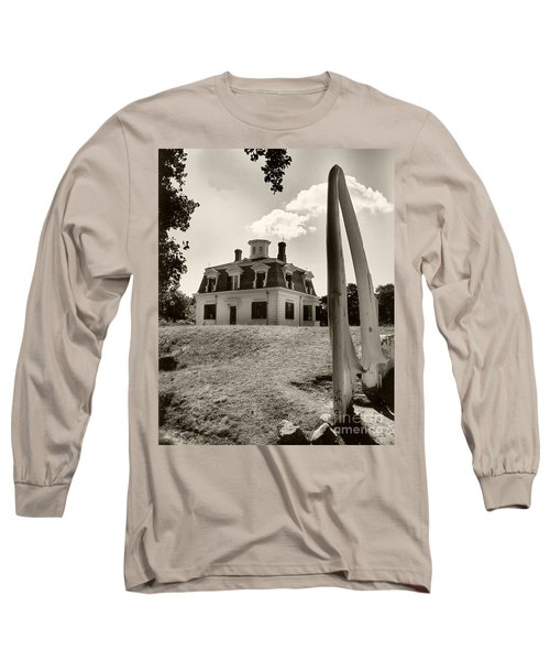 Captions Home Long Sleeve T-Shirt by Raymond Earley