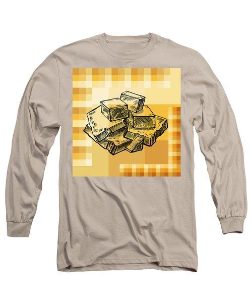 Caramel And Fudge Long Sleeve T-Shirt