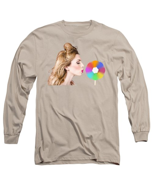 A Motion Of Colours Long Sleeve T-Shirt
