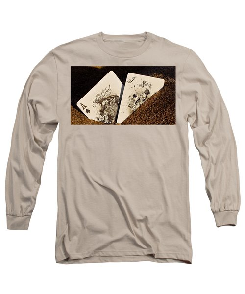 Card Long Sleeve T-Shirt