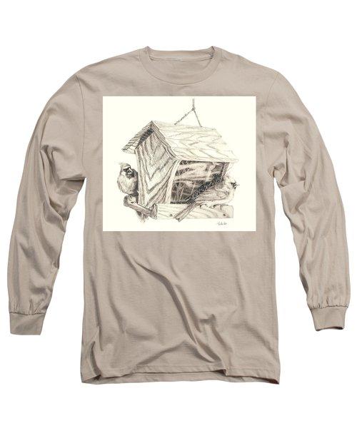 Cardinal Feeder Long Sleeve T-Shirt