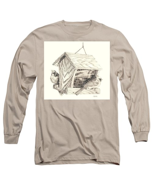 Cardinal Feeder Long Sleeve T-Shirt