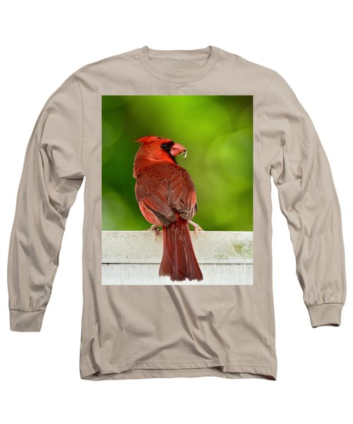 Cardinal Red Long Sleeve T-Shirt