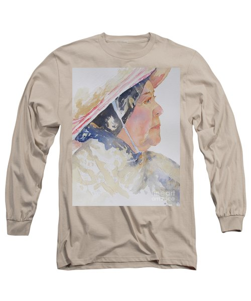 Caribbean Sun Long Sleeve T-Shirt by Mary Haley-Rocks