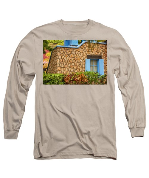 Caribbean Window Long Sleeve T-Shirt