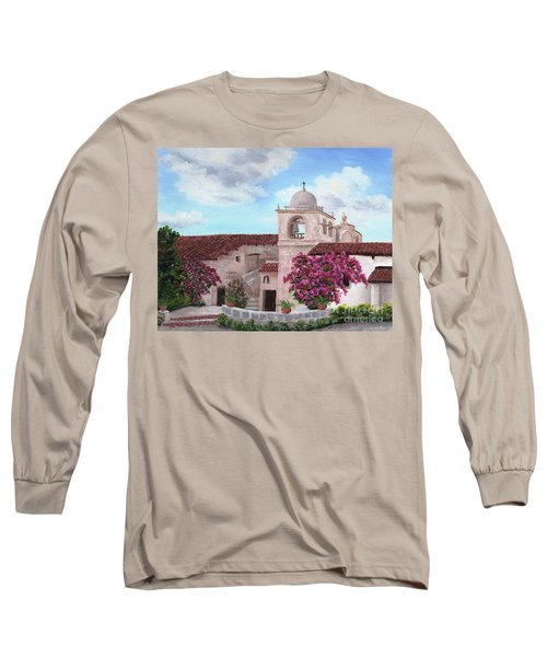 Carmel Mission In Spring Long Sleeve T-Shirt