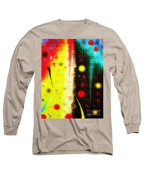 Long Sleeve T-Shirt featuring the digital art Carnival by Silvia Ganora